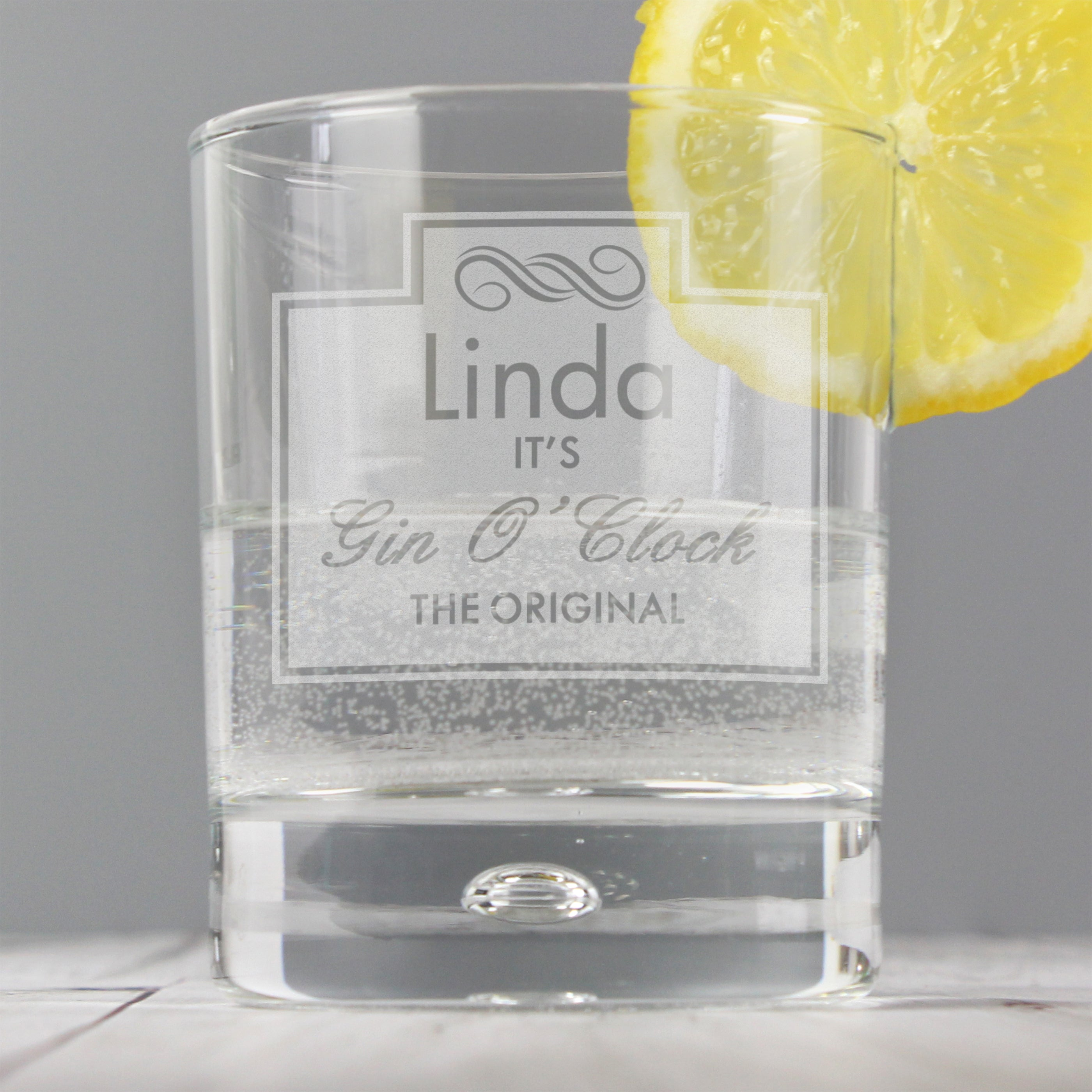 Personalised Gin O'Clock Miniature Gift Set