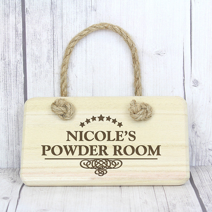 Personalised Decorative Wooden Sign - Personalised Gift Solutions - 2