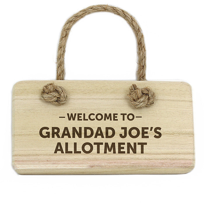Personalised Welcome To... Wooden Sign - Personalised Gift Solutions - 1