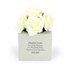 Personalised Memorial Vase - Personalised Gift Solutions - 1