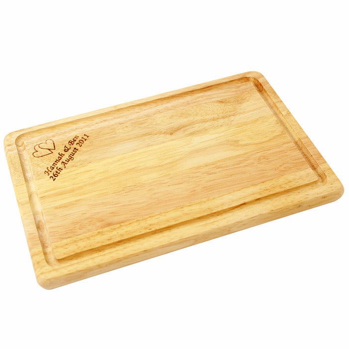 Personalised Large Rectangle Chopping Board - Personalised Gift Solutions - 1