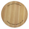 Personalised Large Round Chopping Board - Personalised Gift Solutions - 1