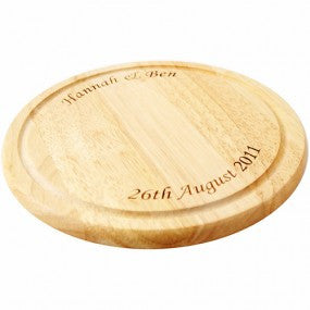 Personalised Large Round Chopping Board - Personalised Gift Solutions - 2