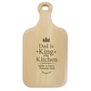 Personalised King of the Kitchen Large Paddle Chopping Board - Personalised Gift Solutions - 1