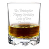 Glass Tumbler - Personalised Any Occasion