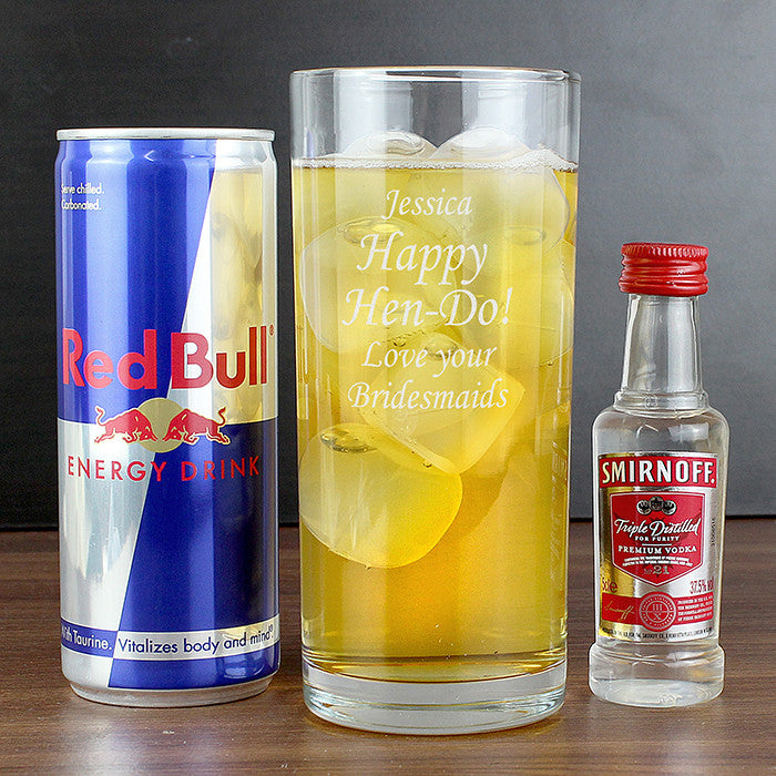 Personalised Vodka and Red Bull Gift Set - Personalised Gift Solutions - 2