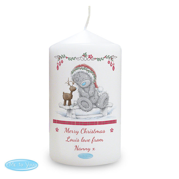 Personalised Me To You Reindeer Candle - Personalised Gift Solutions - 2
