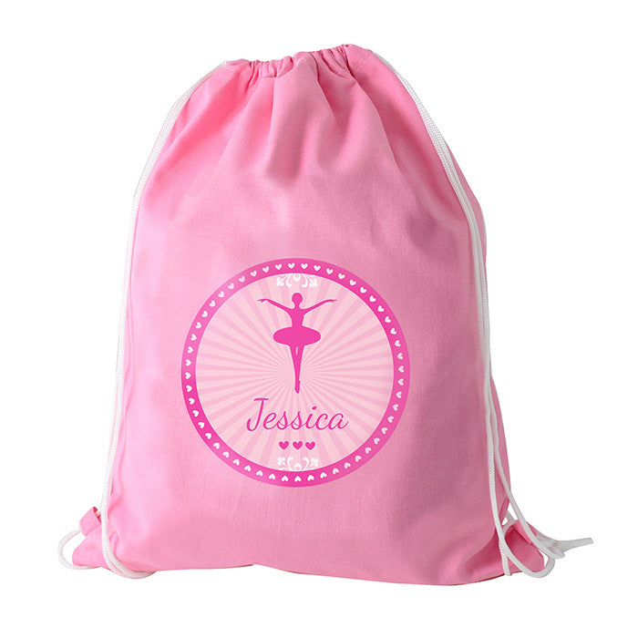 Personalised Girls Pink Ballet Bag - Personalised Gift Solutions - 1