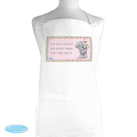 Personalised 'Me To You' Cupcake Apron