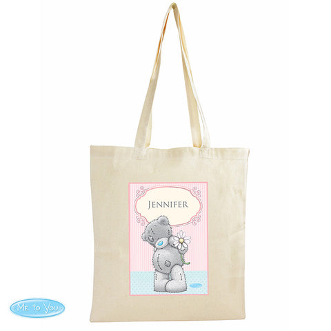 Personalised 'Me To You' Daisy Cotton Bag