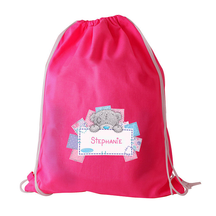 Personalised Me To You Pink Swim/Kit Bag - Personalised Gift Solutions - 1