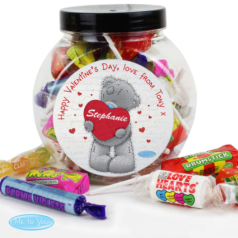 Personalised 'Me To You' Sweet Jar