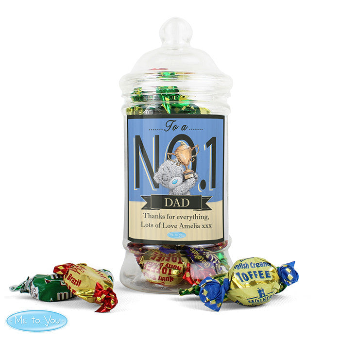 Personalised 'Me to You' No.1 Toffee Jar - Personalised Gift Solutions - 1