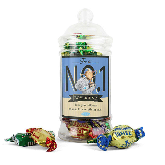 Personalised 'Me to You' No.1 Toffee Jar - Personalised Gift Solutions - 2