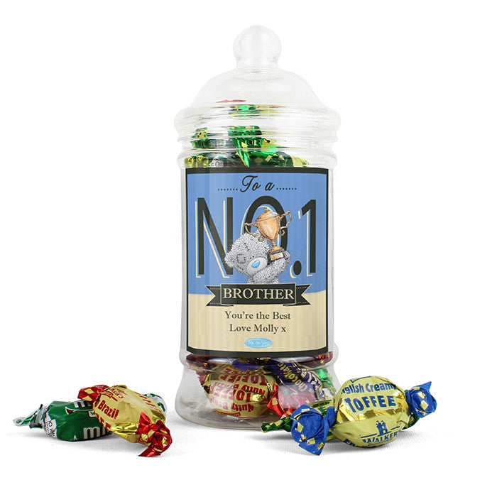 Personalised 'Me to You' No.1 Toffee Jar - Personalised Gift Solutions - 5