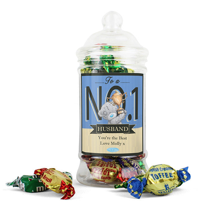 Personalised 'Me to You' No.1 Toffee Jar - Personalised Gift Solutions - 6