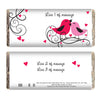 Personalised 'Love Birds' Chocolate Bar - Personalised Gift Solutions - 1