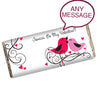 Personalised 'Love Birds' Chocolate Bar - Personalised Gift Solutions - 2