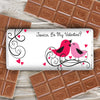 Personalised 'Love Birds' Chocolate Bar - Personalised Gift Solutions - 3