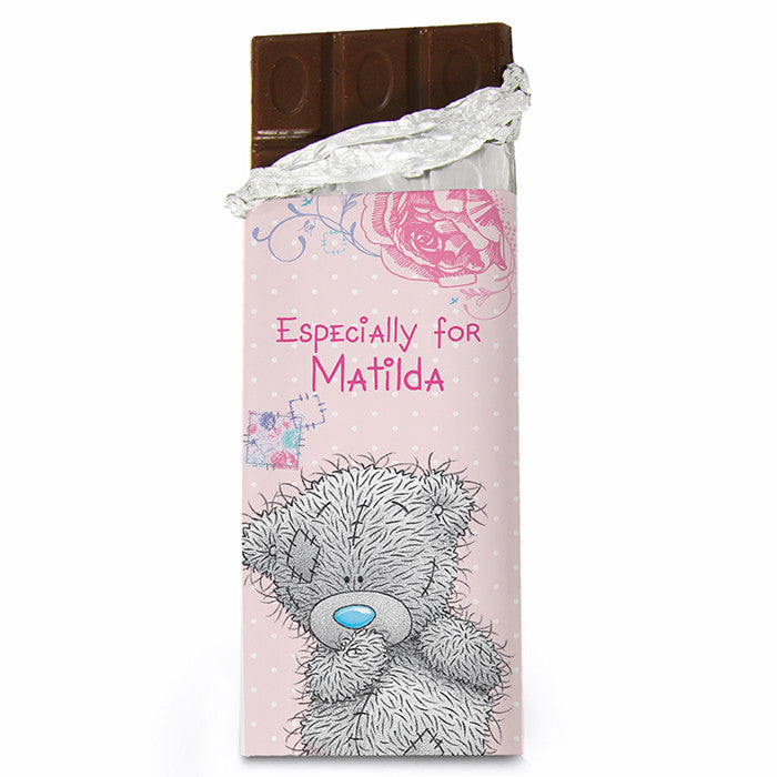 Personalised 'Me To You' Girls Chocolate Bar - Personalised Gift Solutions - 2