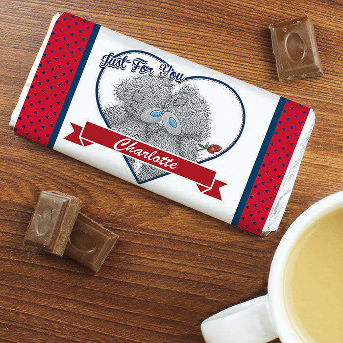 Personalised 'Me to You' Couple Valentines Chocolate Bar - Personalised Gift Solutions - 4