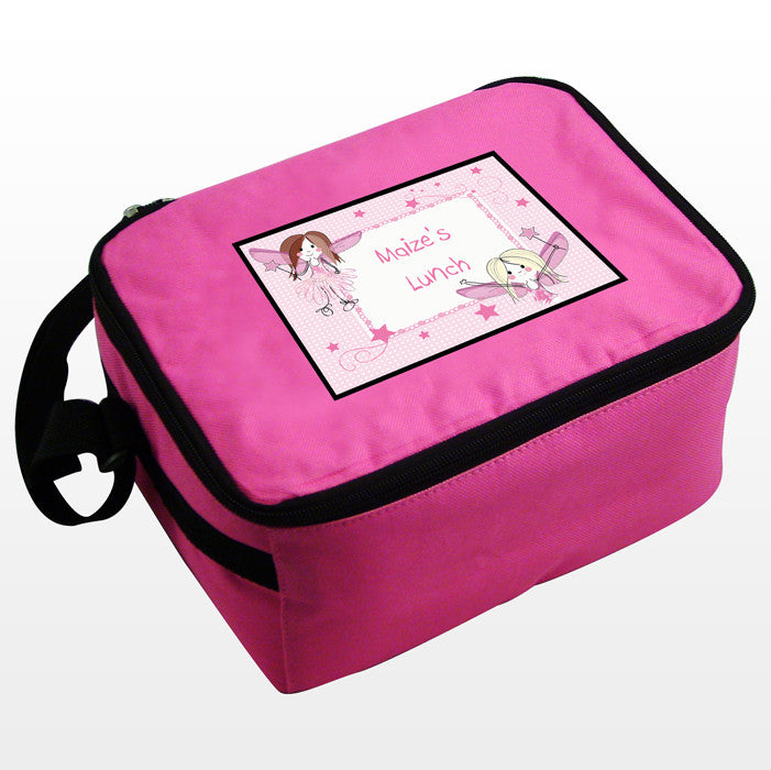 Personalised Girls Pink Fairy Lunch Bag - Personalised Gift Solutions - 2