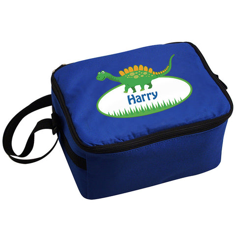 Personalised Dinosaur Boys Lunch Bag