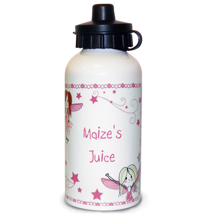 Personalised Girls Fairy Drinks Bottle - Personalised Gift Solutions - 1