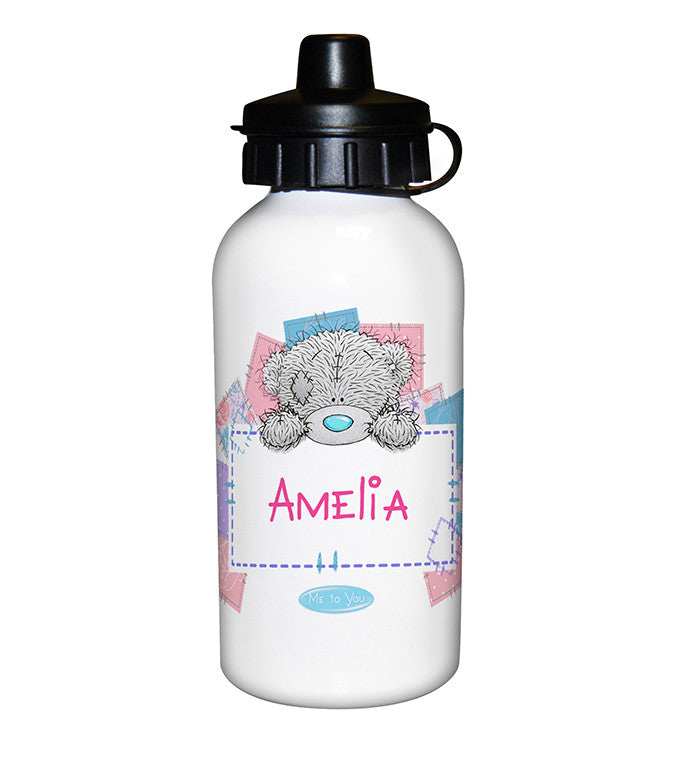 Personalised 'Me To You' Girls Drinks Bottle - Personalised Gift Solutions - 1