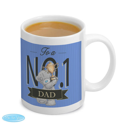Personalised 'Me To You' No 1 Mug For Him