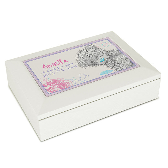 Personalised 'Me To You' Girls Jewellery Box - Personalised Gift Solutions - 2