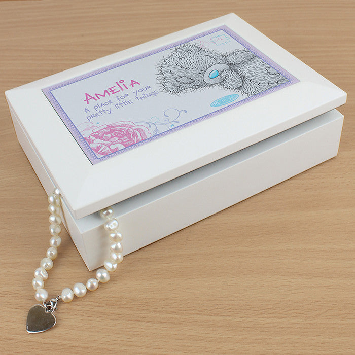 Personalised 'Me To You' Girls Jewellery Box - Personalised Gift Solutions - 4