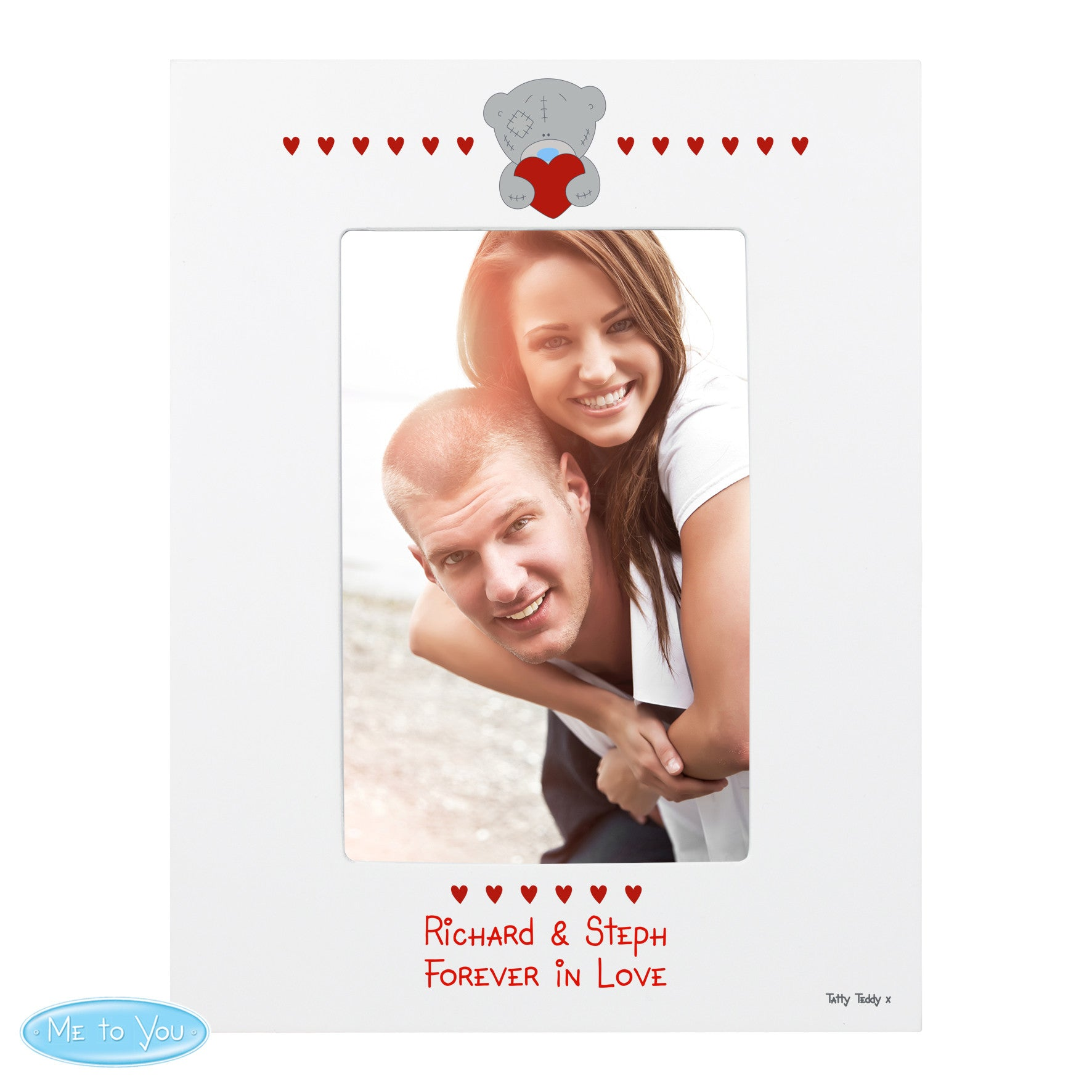 Personalised 'Me To You' Photo Frame (6x4) - Personalised Gift Solutions - 1