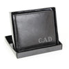 Personalised Leather Wallet with Initials - Personalised Gift Solutions - 2