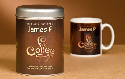 Personalised Coffee Lovers' Set - Personalised Gift Solutions - 1