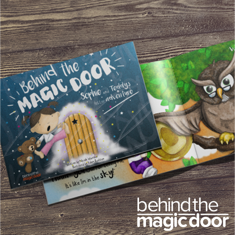 Personalised Behind The Magic Door Children's Book