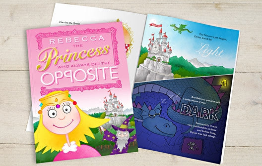 Personalised The Princess Who Always Did the Opposite Book - Personalised Gift Solutions - 1