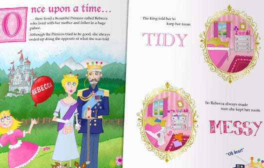 Personalised The Princess Who Always Did the Opposite Book - Personalised Gift Solutions - 2