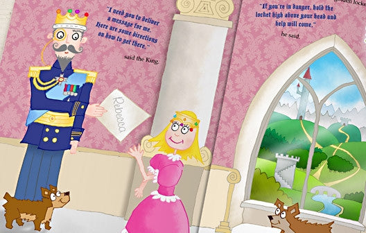 Personalised The Princess Who Always Did the Opposite Book - Personalised Gift Solutions - 4