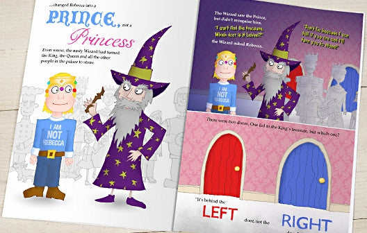 Personalised The Princess Who Always Did the Opposite Book - Personalised Gift Solutions - 5