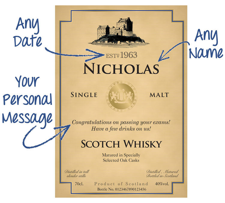 Personalised Single Malt Scotch Whisky - Personalised Gift Solutions - 2