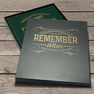 Personalised WW2 Newspaper Book - Personalised Gift Solutions - 8
