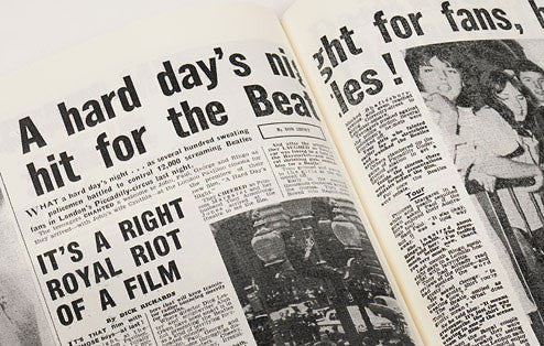 Personalised Beatles Newspaper Book - Personalised Gift Solutions - 3