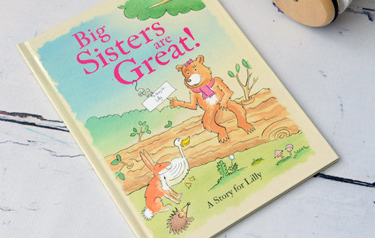 Personalised Big Sisters are Great Book - Personalised Gift Solutions - 1