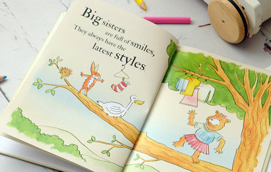 Personalised Big Sisters are Great Book - Personalised Gift Solutions - 3