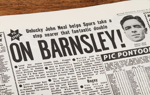 Personalised Barnsley Football Newspaper Book - Personalised Gift Solutions - 5