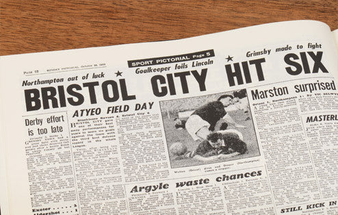 Personalised Bristol City Football Newspaper Book - Personalised Gift Solutions - 4