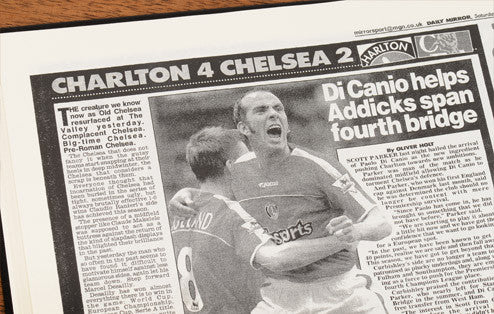 Personalised Charlton Football Newspaper Book - Personalised Gift Solutions - 5
