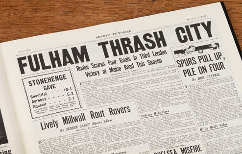 Personalised Fulham Football Newspaper Book - Personalised Gift Solutions - 5