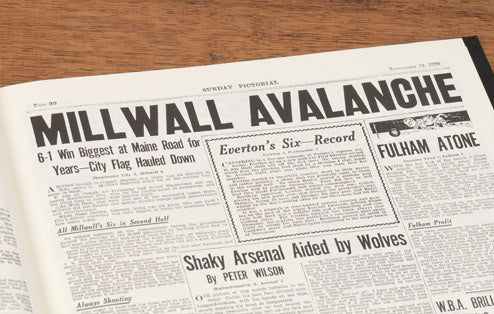 Personalised Millwall Football Newspaper Book - Personalised Gift Solutions - 4